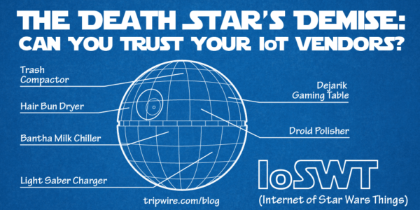 The Death Star's Demise: Can You Trust Your IoT Vendors?
